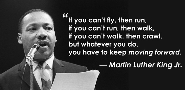 Martin Luther King Quotes Inspirational Motivation: Transition Of Thoughts