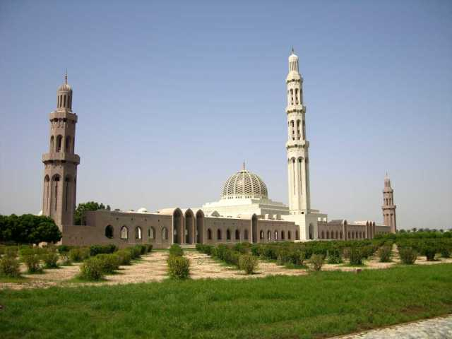 Muscat 04 Grand Mosque 01 Full View Outside