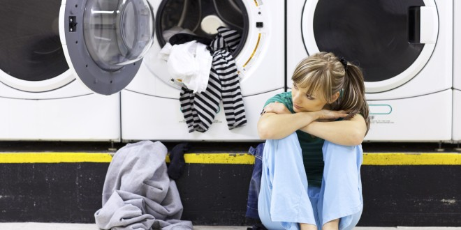 Is doing laundry only a women's job?