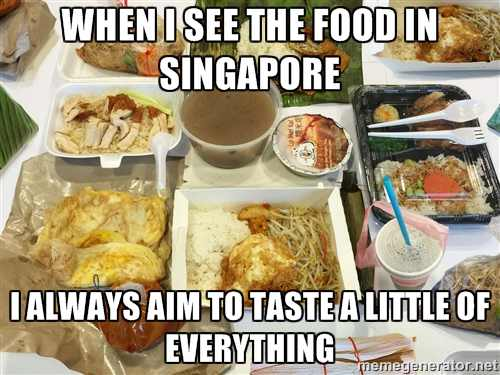 Singapore foodie moments..