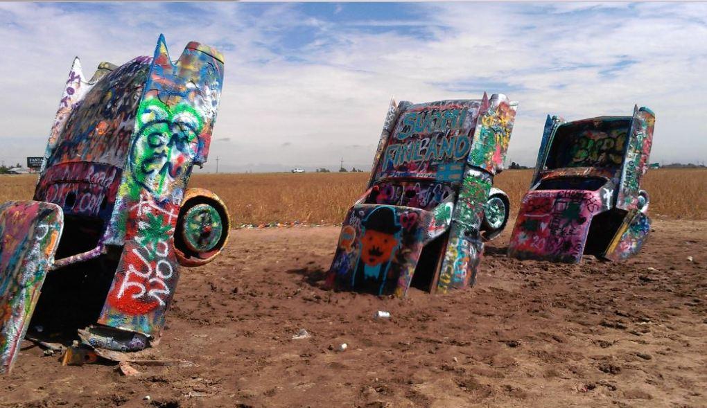 Graffiti art..