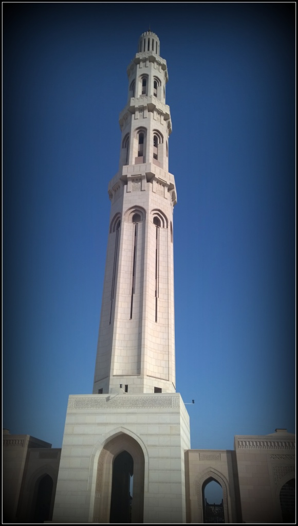 The minaret stands tall - An architectural masterpiece