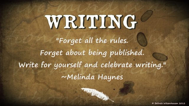 For the love of writing..