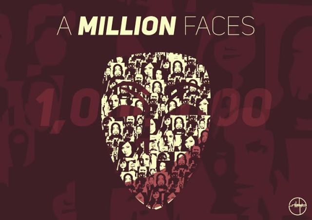 A million faces
