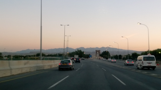 On the way to Muscat from the interiors