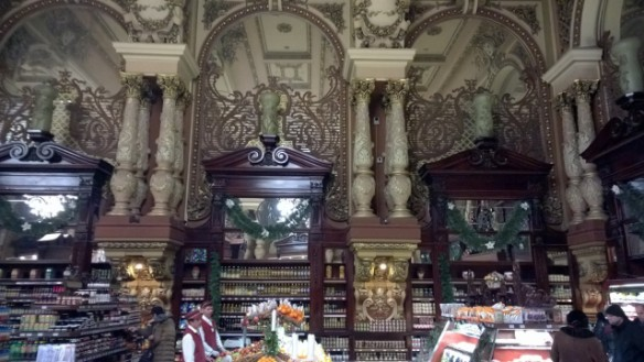 Can you imagine the work involved in constructing such a store more than 110 years ago?