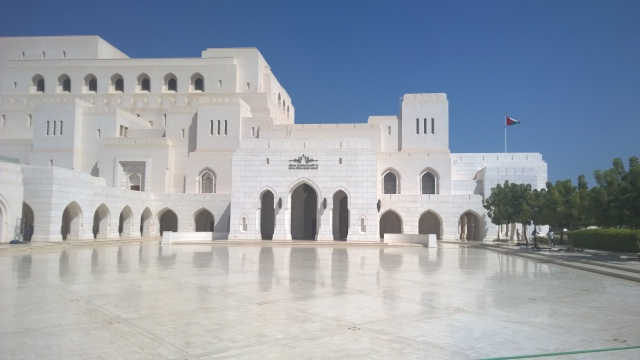 Royal Opera House Muscat - Doesn't it look majestic?