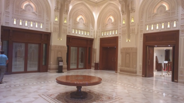 The lovely entrance to ROHM